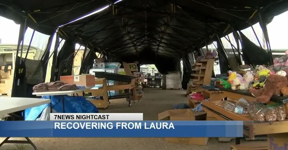 Lake area receives help from Friend Ships organization